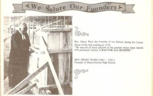 A Salute to our Co-Founder Rev Henry Ward